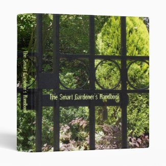My Secret Garden Vinyl Binder