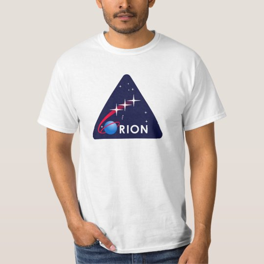 NASA Orion Logo T-Shirt   Zazzle.com