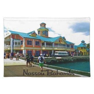 Nassau Bahamas Placemat