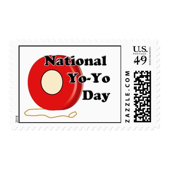 National Yo-Yo Day Postage