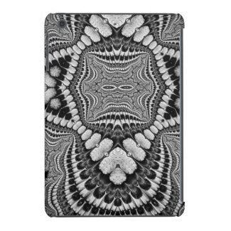 Native American BLK/WHT Fractal Ipad Mini case
