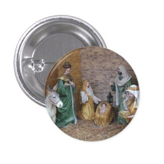 Nativity Scene Buttons