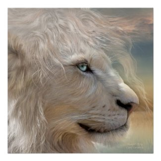 Nature's King - Portrait Fine Art Poster/Print
