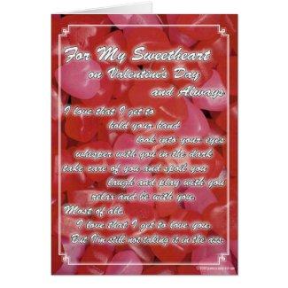 Naughty Valentine Card