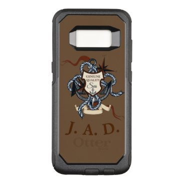 Nautical Manly Style With Rope OtterBox Commuter Samsung Galaxy S8 Case
