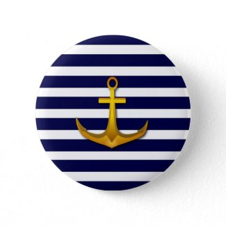 Nautical Sailor Button