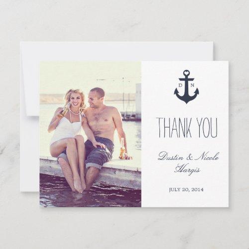 Nautical Thank You | Wedding