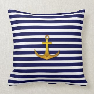 Navy American MoJo Pillows