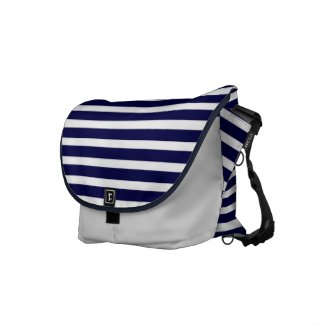 Navy Rickshaw Messenger Bag