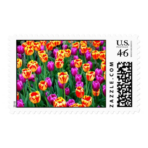 Neon Tulips Medium Stamps stamp