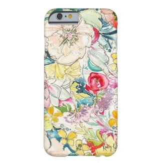 Neon Watercolor Flower iPhone 6 case iPhone 6 Case