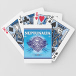 Neptunalia Blue Playing Cards playing cards