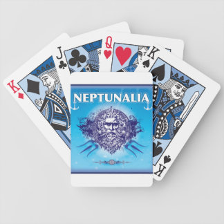 Neptunalia Blue Playing Cards