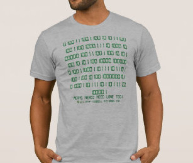 Nerdz Binary Hidden Message T Shirt