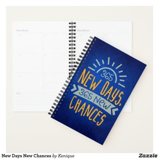 New Days New Chances Planner