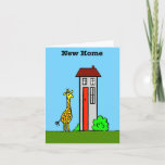 New Home Giraffe Card