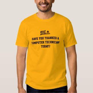 NEW Low Price Promo Computer SysAdmin Logo T-Shirt