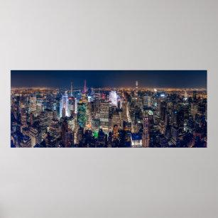 new york city skyline posters prints