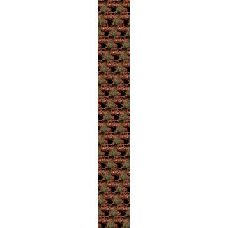 Night Leaves - CricketDiane ugly men's tie tie