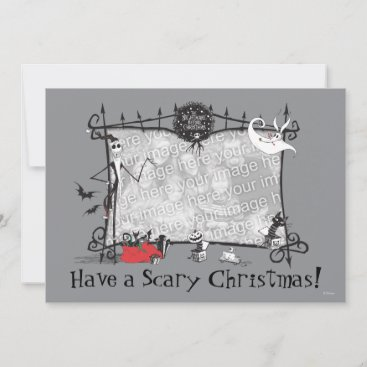Nightmare Before Christmas Holiday Card