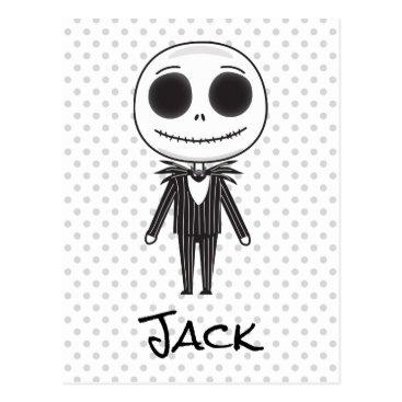 Nightmare Before Christmas | Jack Emoji Postcard