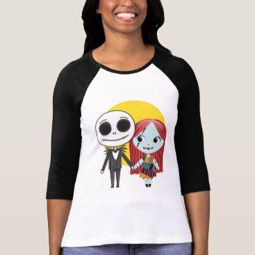 Nightmare Before Christmas   Jack & Sally Emoji 2 T-Shirt