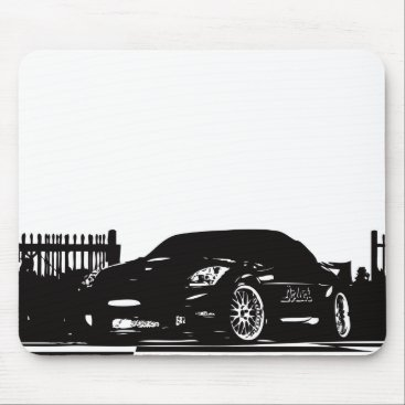 Nissan 350Z Black Mouse Pad