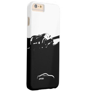 Nissan 350Z Rolling Shot with White Brushstroke Barely There iPhone 6 Plus Case