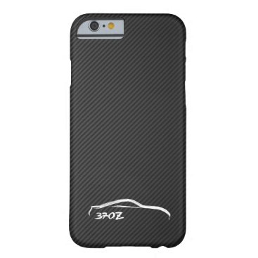 Nissan 370Z White Silhouette Logo Barely There iPhone 6 Case
