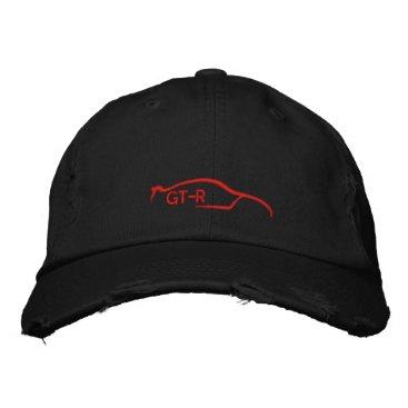 Nissan Skyline GT-R Embroidered Baseball Hat