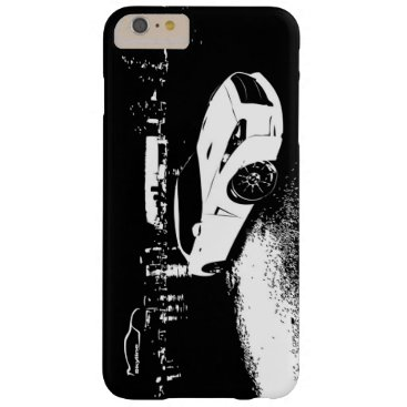 Nissan Skyline GTR with City Lights Backdrop Barely There iPhone 6 Plus Case