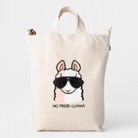 No Prob-Llama Duck Bag