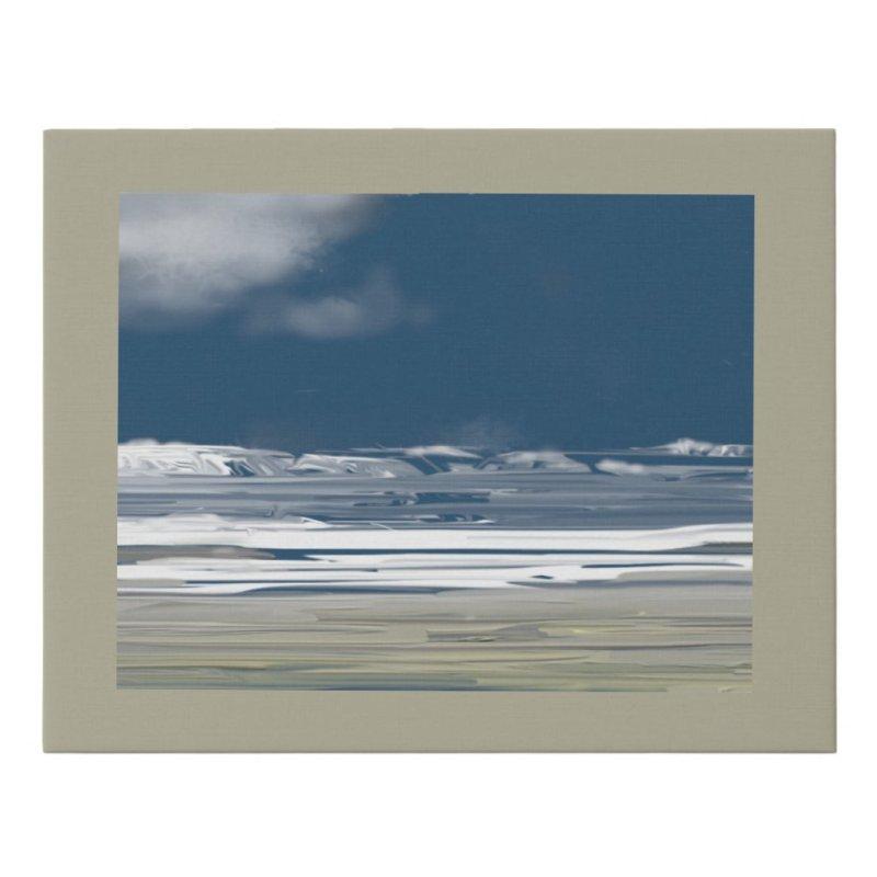 Northwest Pacific Ocean Dream Faux Canvas Print