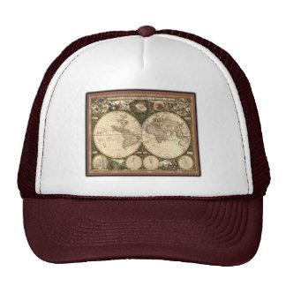Nova totius terrarum orbis tabula auctore mesh hats