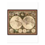 Nova totius terrarum orbis tabula auctore postcards