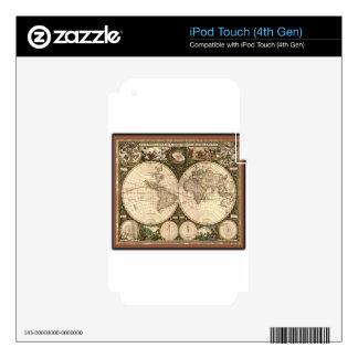 Nova totius terrarum orbis tabula auctore iPod touch 4G skin