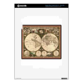 Nova totius terrarum orbis tabula auctore iPad 3 skin