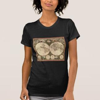 Nova totius terrarum orbis tabula auctore tee shirt