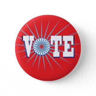 NowPower VOTE ! Button, red button