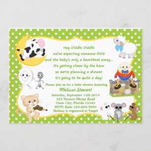 rhyming invitations zazzle