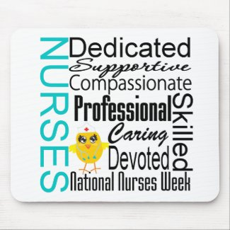 Nurses Recognition Collage - National Nurses Week mousepad