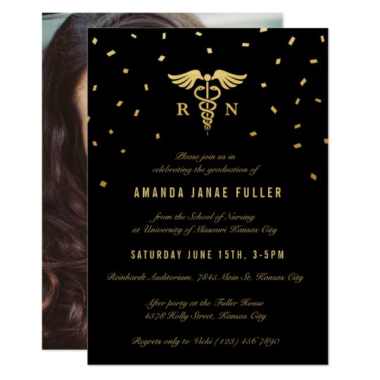 Formal Graduation Announcements