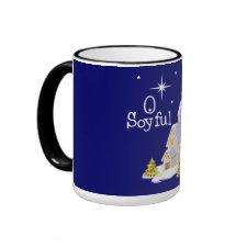 O Soyful Night Christmas mug