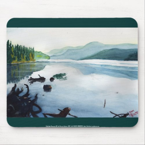 Oakridge Reservoir #2 mousepad