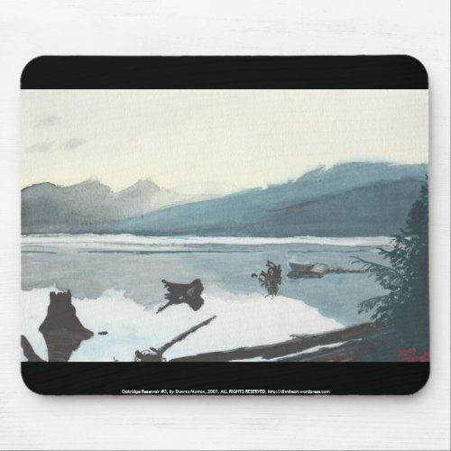 Oakridge Reservoir #3 mousepad