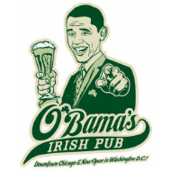 Obama's Irish Pub T-Shirt shirt