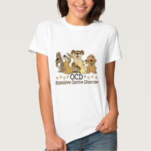 OCD Obsessive Canine Disorder T Shirt