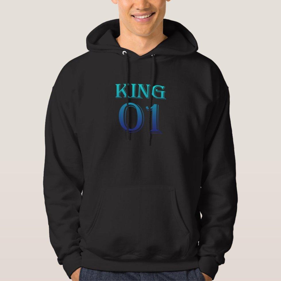 Ocean Blue King 01 Hoodie