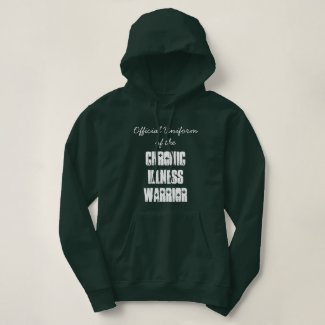 Official Uniform of the Chronic Illness Warrior T-shirt