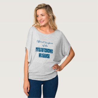 Official Uniform of the Dysautonomia Warrior T-shirt